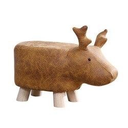 Barhocker Kreative Holz Tier Schritt hocker Hocker Hohe qualität Kinder Klapp schritt hocker Hocker Elefanten dinosaurier kuh Holz hocker