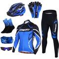 2020 Pro Team Велоспорт Джерси для мужчин с длинным рукавом мужская велосипедная Одежда MTB Одежда комплекты одежды для езды на велосипеде аксессу...