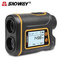 Télescope Laser télémètre 1500m 1000m 800m tactile LCD Laser télémètre Golf chasse télémètre ruban à mesurer outil de Roulette