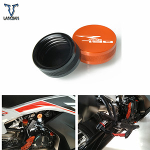 Image 1 - ل KTM 790 Adventure R 2019 790 Adventure 2019 ملحقات دراجة نارية الفرامل الخلفية أسطوانة رئيسية خزان غطاء غطاء حامي