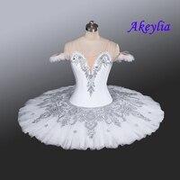 White Doll Professional Snow White Queen YAGP Ballet Tutu Women Nutcracker Classical Platter Ballet Stage Costume Navy blue