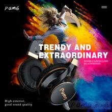 Headset gamer ep16s 3.5mm, com fio, estéreo, dobrável, fone de ouvido, para celular, menino, presente fone de ouvido