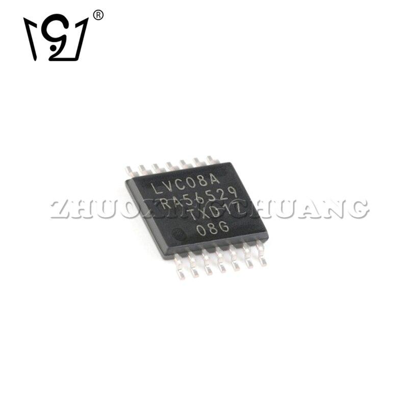 20 pces 74lvc08apw, 118 TSSOP-14 quatro-way 2-entrada e chip de porta