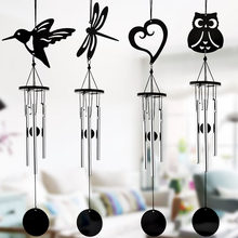 Modern Multi-Tube Music Wind Chime Pendant Handmade Metal Crafts Garden Ornaments Home Wedding Wall Decoration Gift(China)