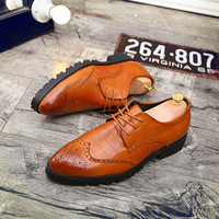 Fashion New Trendy Men Brogue Shoes Latest Popular Classic Men Shoes Luxury Casual Brand Dress Shoes Oxford Shoes for Gentleman