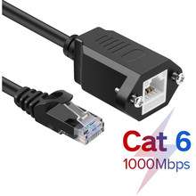 цена на Cat6 Ethernet Extension Cable RJ45 Cat 6 Male to Female Rj45 Ethernet Lan Network Cable Adapter for PC Laptop 0.5m 2m 3m