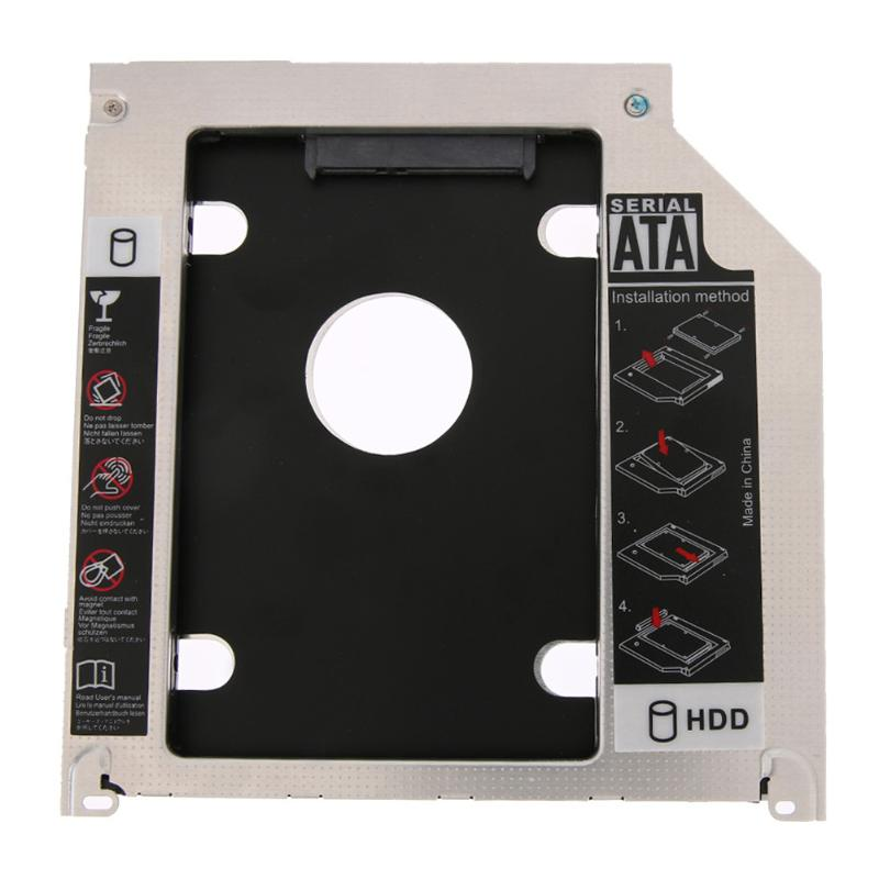 7mm 9.5mm Fast Speed SATA HDD SSD Hard Drive Caddy Bracket for MacBook Pro iMac High Speed Computer HDD Enclosure|HDD Enclosure| |  - title=