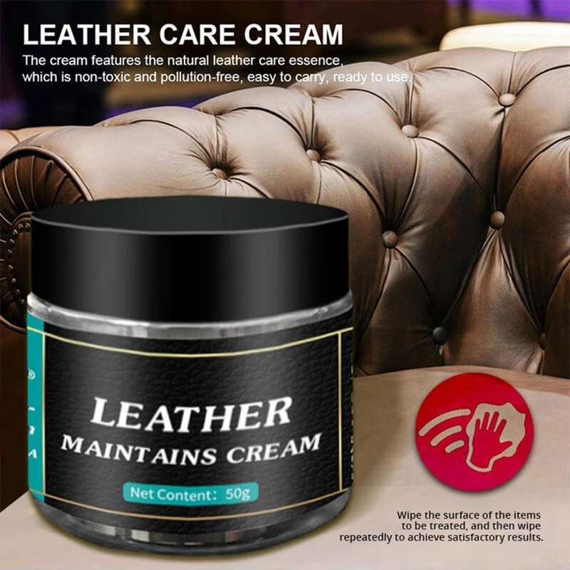Leather Maintains Cream