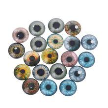 20шт стекло кукла глаза животное поделки поделки глазные яблоки для динозавр глаз аксессуары ювелирные изделия изготовление ручная работа 8мм% 2F12мм% 2F18мм