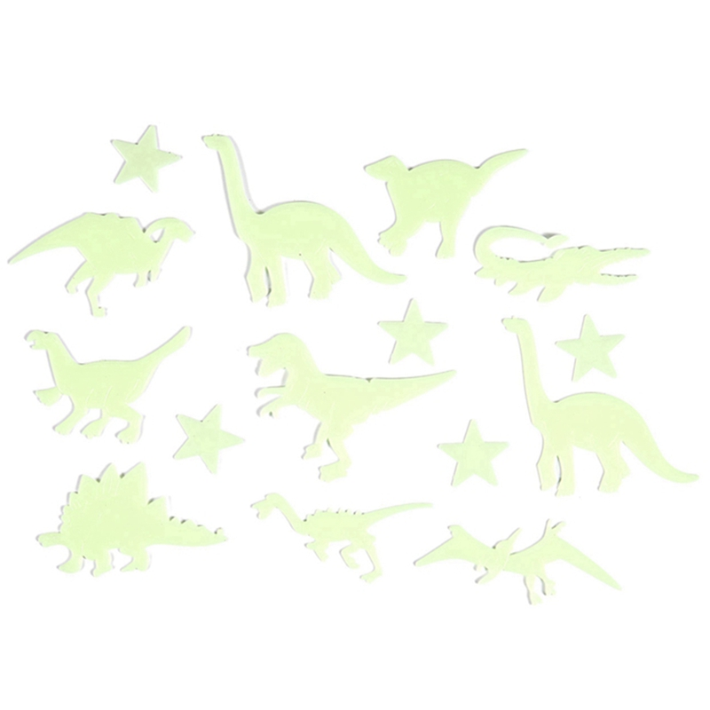 13 PCS Glow In The Dark Star Fluorescent Stickers