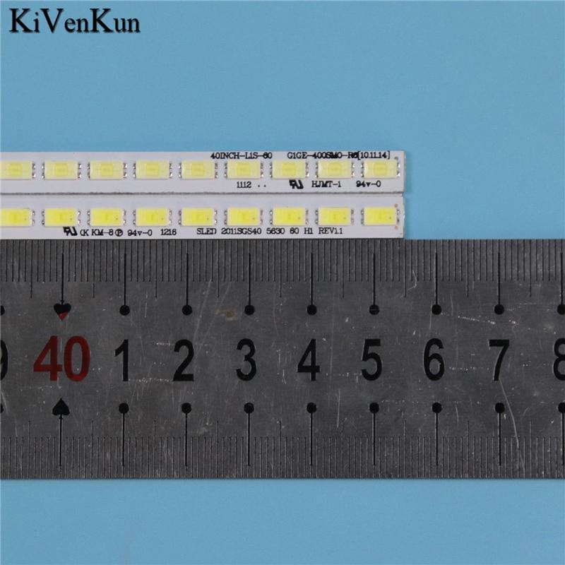 lowest price TV Lamp LED Backlight Strips For Grundig 40VLE6142C LED Bars SLED 2011SGS40 5630 60 H1 Bands Rulers 40INCH-L1S-60 G1GE-400SM0-R6