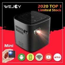 Wejoy DL-S12 Pocket Cinema Mini Proiettore Per Il Telefono Mobile Beamer Celular Proiettore Tactil Tocco di WiFi TV 4K I Dati Mostrano cinemood