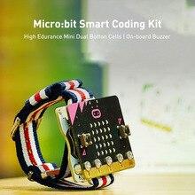Образования DIY программирования микро:бит смарт часы носимых устройств кодирования набор микро-бит с расширением Совета, пригодный для нуля 3.0