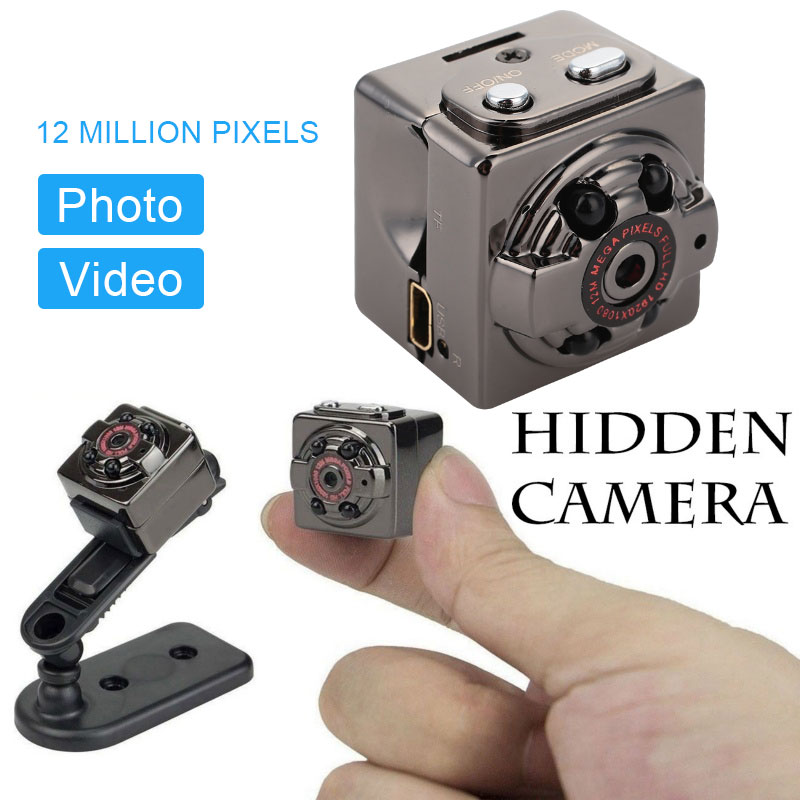 2type SQ8 Mini DV Camera Night Vision HD Interpolation Recording Camera of Extreme Sports HD mini surveillance camera cctv camer