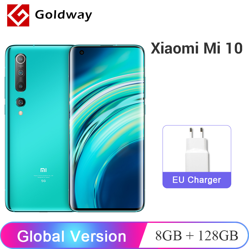 "Global Version  Xiaomi Mi 10 Mi10 8GB 128GB 5G Smartphone Snapdragon 865 Octa Core 108MP Quad Camera 6.67"" AMOLED 4780mAh WIFI 6|Cellphones|   - AliExpress"