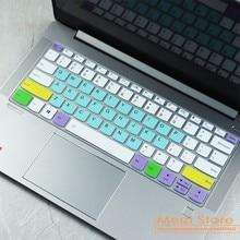 Capa de teclado portátil protetor de pele para lenovo ideapad flex 5 5g 14