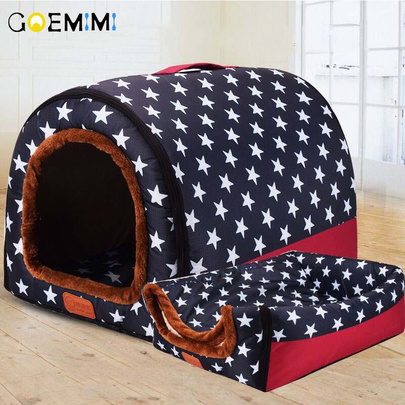 Foldable Warm Dog House // Puppy or Kitten 1