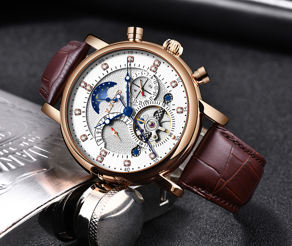 H229f85c699cc43c392237eba3f20e9bcd LIGE Gift Mens Watches Brand Luxury Fashion Tourbillon Automatic Mechanical Watch Men Stainless Steel watch Relogio Masculino