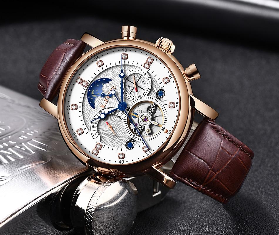 H229f85c699cc43c392237eba3f20e9bcd LIGE Gift Mens Watches Brand Luxury Fashion Tourbillon Automatic Mechanical Watch Men Stainless Steel watch Relogio Masculino