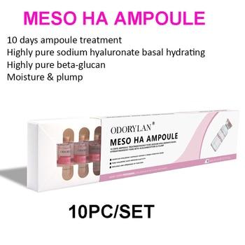 5ml vials Cross-linked hyaluronic acid Pure Micro Molecular water Mesotherapy HA Collagen Hyaluronic Acid Skin Whitening Serum