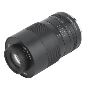 Image 2 - 7 אומנים 60mm F2.8 עדשת APS C עדשות פוקוס ידני מאקרו עדשה עבור Sony עבור Canon עבור Fuji עבור ניקון מצלמות לן אביזרי חדש