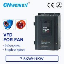 цена на Speed controller For FAN Motor 220V 7.5KW/11KW 3 Phase 220v Output 50hz/60hz AC Drive VFD Frequency Inverter