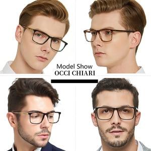 Image 3 - OCCI CHIARI Glasses Frame For Men Optical Computer Eyeglasses Clear Lens Prescription Anti blue light Gaming Eyewear  W COLOPI