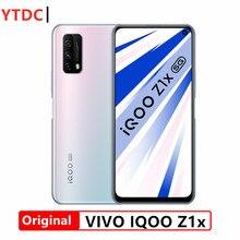 Original novo vivo iqoo z1x 8gb 128gb 5g telefone inteligente 6.57 Polegada 120hz tela 5000mah bateria 33w super vooc telefone celular