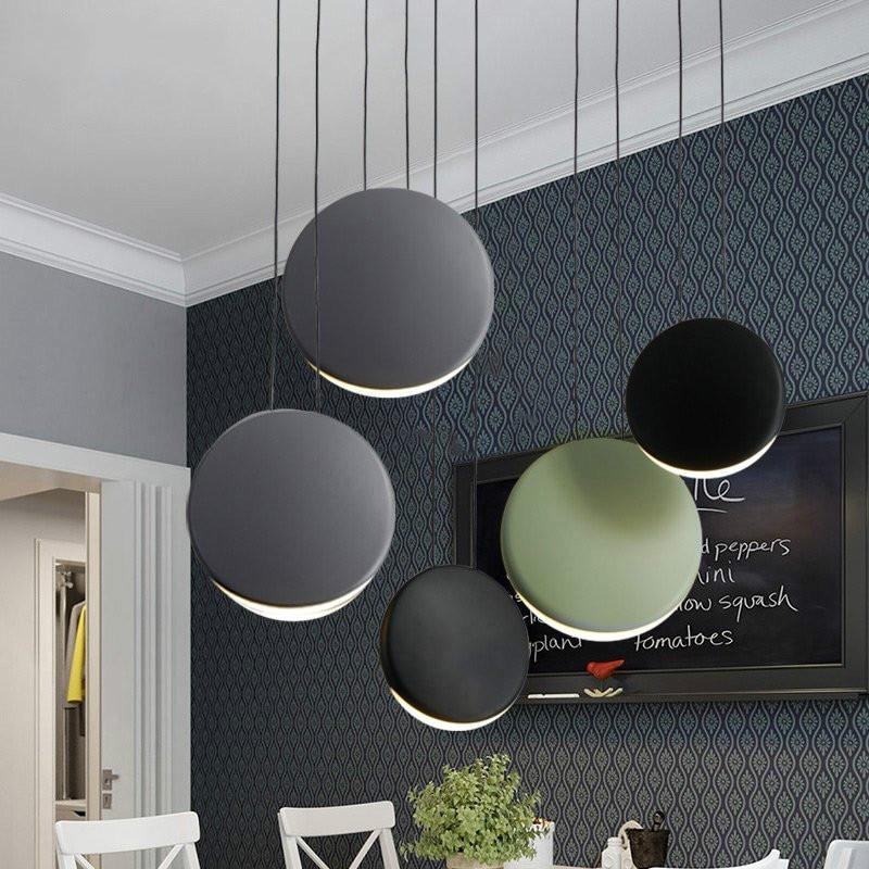 Post-modern Minimalist Pendant Lights Living Room Dining Room Nordic Led Pendant Lamp Bar Creative Kitchen Decor Hanging Lamps