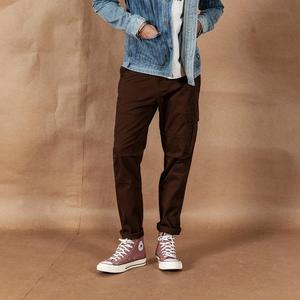 Image 2 - SIMWOOD 2020 pantalones Cargo hombres Pinstriped moda Hip Hop Streetwear pantalones de estilo recto más ropa de marca de tamaño 190423