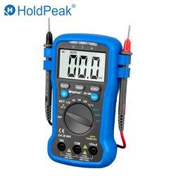 Цифровой мультиметр HoldPeak HP-39B, ручной амперметр постоянного и переменного тока, вольтметр, измеритель, цифровой амперметр