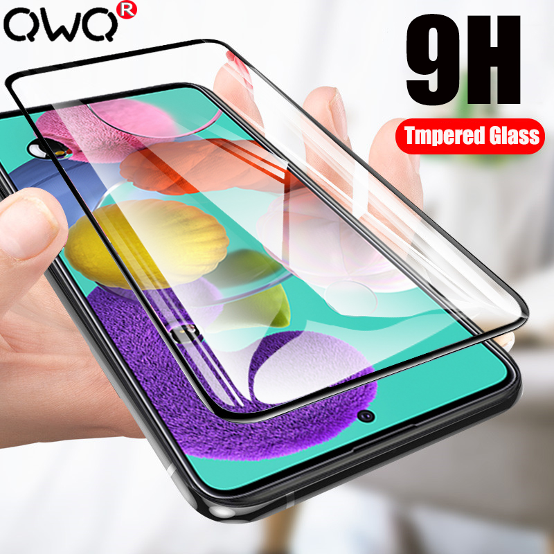 Full Cover Tempered <font><b>Glass</b></font> For <font><b>Samsung</b></font> <font><b>Galaxy</b></font> A51 A71 A50 A40 A70 A20E A20 A10 Screen Protector Film For <font><b>Samsung</b></font> A30 <font><b>A60</b></font> A80 A90 image