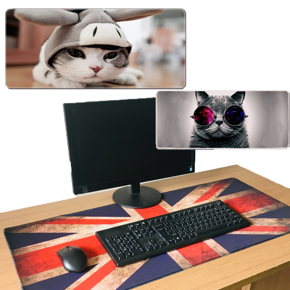 Gaming <font><b>Mouse</b></font> <font><b>Pad</b></font> Gamer Big Mousepad <font><b>XXL</b></font> <font><b>Mice</b></font> <font><b>Pads</b></font> <font><b>Large</b></font> <font><b>Mouse</b></font> <font><b>Pad</b></font> PC Computer Desk Mat Mause Print DIY Carpet Gaming Accessories image