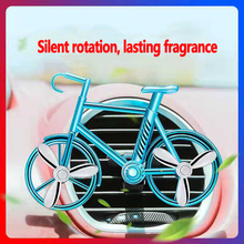 Car Perfume Outlet Aroma Interior Decoration Articles Creative Light Fragrance On The Fan Cars