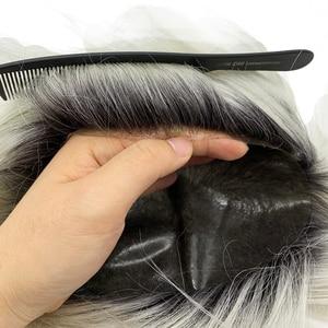Image 5 - Tupé de color personalizado Popular, prótesis de cabello de color T que podría hacer cualquier base
