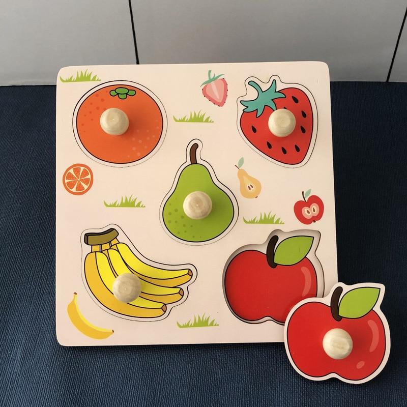 Детский деревянный сортер - головоломка, деревянные игрушки для детей 1