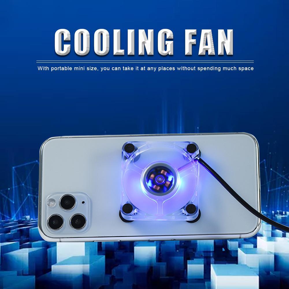 Мобильный телефон Cooler USB универсальный охлаждающий вентилятор для сотового телефона геймпад игровой бесшумный контроллер радиатора радиа...