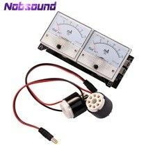 Nobsound probador de sondas de corriente bidireccional, medidor para EL34 KT88 6L6 6V6 6550, amplificador de tubo de vacío