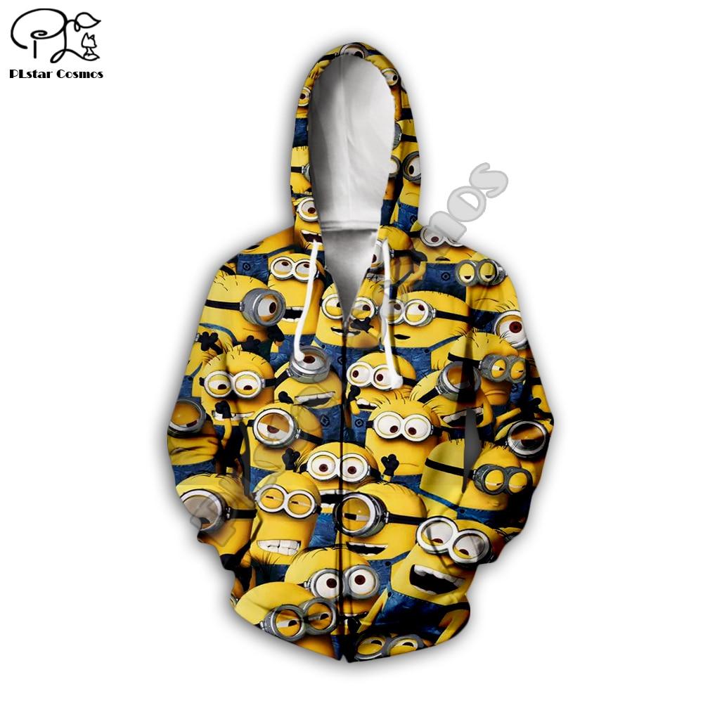 PLstar Cosmos kawaii colorful casual cartoon Harajuku 3D Printed Hoodie Sweatshirt Jacket shirts Men Women hiphop funny style 4 in Hoodies amp Sweatshirts from Men 39 s Clothing