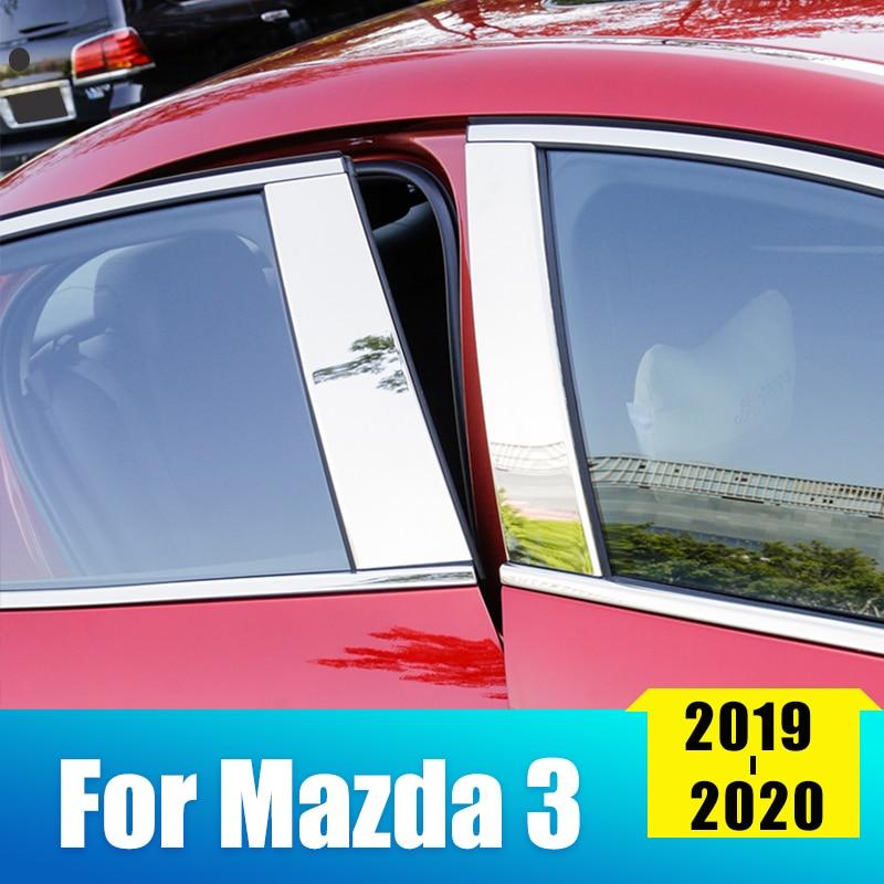 Купить нержавеющая сталь автомобильный зеркальный эффект оконный столб
