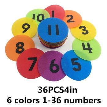 Mark Its Sitting Carpet Spots to Educate, Pack of 30 Rug Circles Marker Dots for Preschool, Kindergarten, and Elementary Teacher - discount item  22% OFF Outdoor Fun & Sports