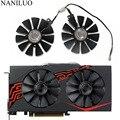 Кулер для ASUS RX580 RX570 RX470, 4-контактный кулер для ASUS Radeon RX 470 570 580 EXPEDITION OC, Вентилятор Охлаждения видеокарты 88 мм, для ASUS Radeon RX 470 570 580