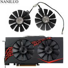 88mm FDC10U12S9-C RX580 RX570 RX470 4Pin Cooler Fan For AREZ ASUS Radeon RX 470 570 580 EXPEDITION OC Graphics Card Cooling Fan original sapphire nitro rx 570 video card radeon rx570 4g ddr5 graphics card directx12 2048sp 1325 7000mhz 3 years warranty
