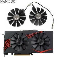 Ventilador cooler 4pin, 88mm FDC10U12S9-C rx580 rx570 rx470 para arez asus radeon rx 470 570 580 expedtion oc graphics ventilador resfriador de cartão