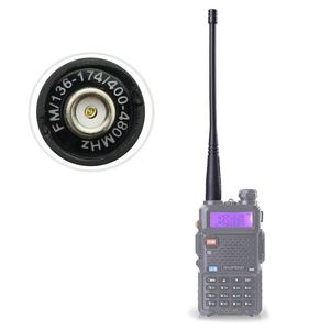 Promotion--Walkie talkie for BaoFeng uv-5r antenna SMA-Female UHF/VHF 136-174/400-520 MHz for UV5R UV-82 GT-3 Baofeng accessorie