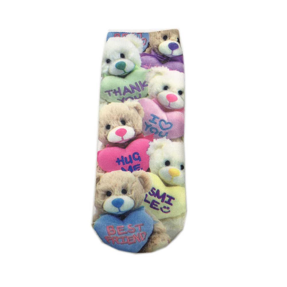 1 คู่ Hallowee Kawaii ถุงเท้าสั้นถุงเท้าเรือ Happy ถุงเท้าคู่โครงกระดูกตลกเนื้อการ์ตูนผู้ชายผู้หญิงที่มีสีสันข้อเท้าถุงเท้า
