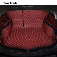 Car Styling For Hyundai Tucson 2019 Accessories Trunk Mats Liner Carpet Guard Protector Car Accessories