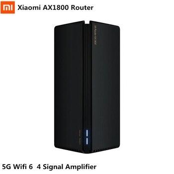 Router Xiaomi AX1800 Wifi 6 Gigabit 5G 2,4G amplificador de señal de doble banda 4 OFDMA Router inalámbrico de alta ganancia 2 antenas 2020 nuevo