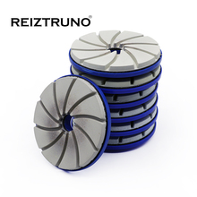 Reiztruno 100/125/150mm Edge Polishing Pads For polishing stone straight and beveled edge .snail lock attachment,wet use