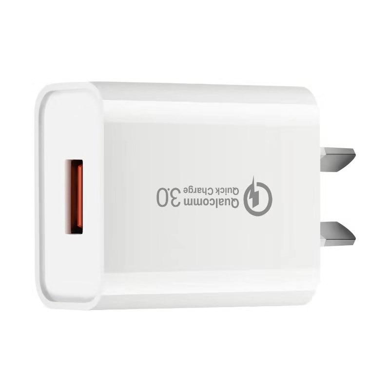 Умный USB-адаптер для быстрой зарядки телефонов iPhone, Samsung, Huawei
